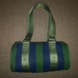 Blue/Green Cylinder Lacoste Bag